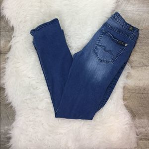 7 for all Mankind Jeans Standard Skinny Size 14
